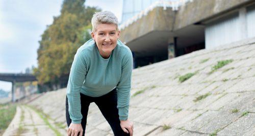 donna sport attivita fisica riposo